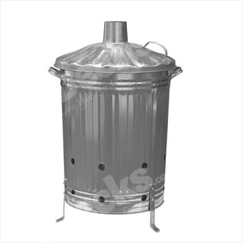 Galvanised Steel Incinerator (80 Litre)