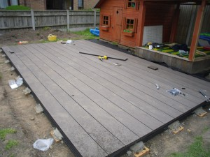 Quick and easy to build, composite decking is a great addition for any UK garden