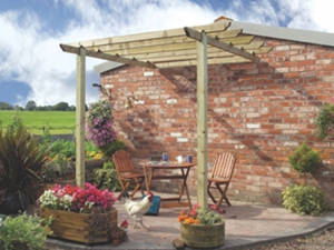 Pergolas are the Perfect Partner for Patios