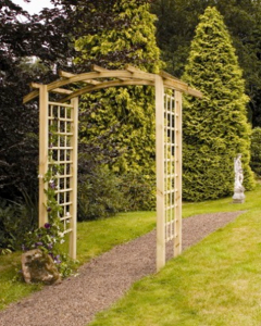 A lovely garden archway