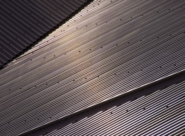 types of corrugated roofing