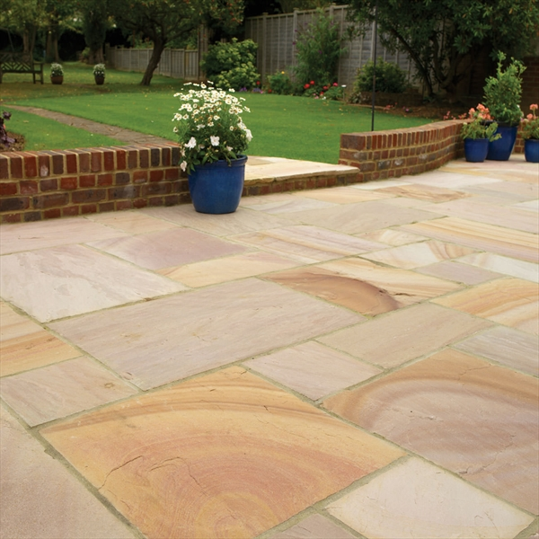 Installing indian stone paving like a pro edecks installing indian stone paving like a pro workwithnaturefo