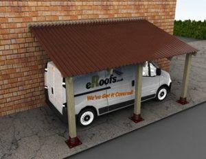 bitumen carport