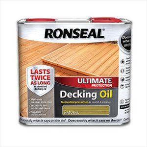 ronseal ultimate decking oil