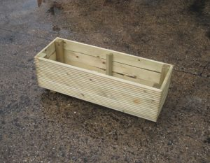 Large Treated planter