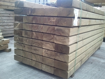 Planed Sleepers 1200mm x 200mm x 100mm