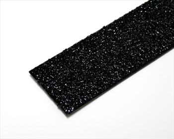 50mm BLACK Anti Slip Decking Strip - Fixings Inc