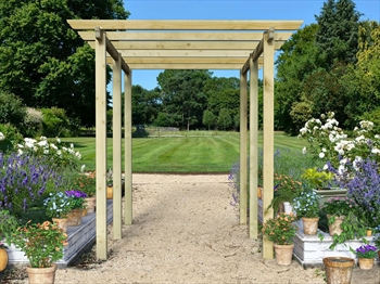 Royal Walkway Pergola Extra Wide (7.2m x 3.6m)