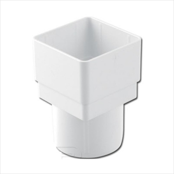 Square to Round Adapter (65mm)