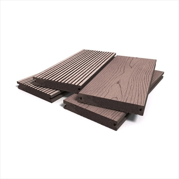 Redwood Bark Effect Solid Composite Decking (146mm x 21mm - 3.6m)