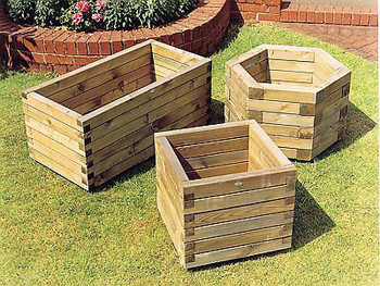 Elite Hexagonal Planter (Medium)