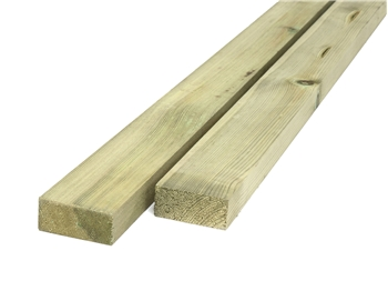Treated Planed Square Edge Timber (50mm x 25mm)