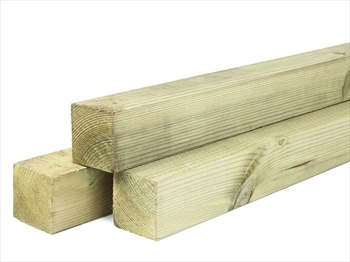 Treated Planed Square Edge Timber (50mm x 50mm)