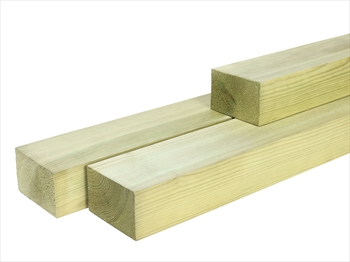 Treated Planed Square Edge Timber (75mm x 50mm)