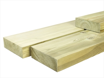 Treated Planed Square Edge Timber (150mm x 50mm)