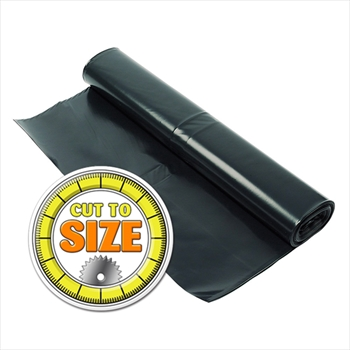 Black Super Heavy Duty Gauge Polythene (Cut to Size)