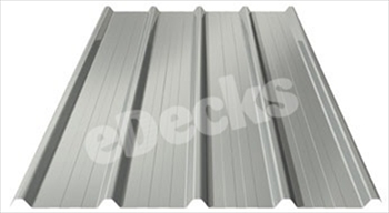 Anti Condensation Plastisol Coated Goosewing Grey Box Profile Steel Sheets (8ft - 2440mm)