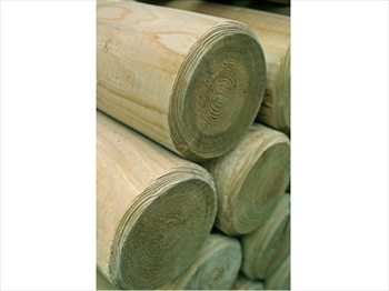 Machine Round Poles (90mm Non Pointed)