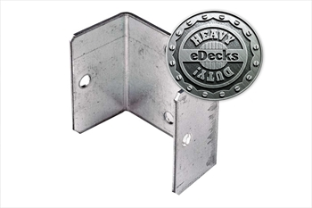 Heavy Duty Galvanised Fence Panel Clip (46mm)