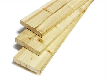 "Rough Sawn Treated Timber (4"" x 1"") *Exact Cut*"
