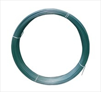 Green PVC Coated Line Wire (3.1mm x 76m)