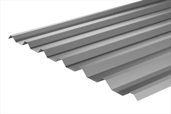 Plastisol Coated Merlin Grey Box Profile Sheet (14ft - 4267mm)