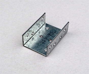 46mm Galvanised Double Pergola Clip