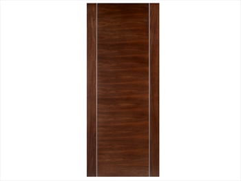 Alcaraz Walnut Flush Door (Metric)