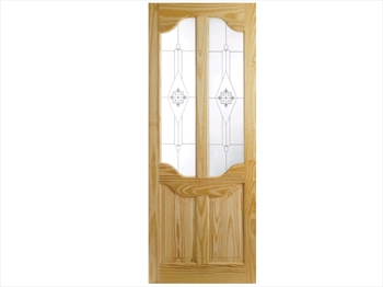 Pine Western Clear Door (Imperial)