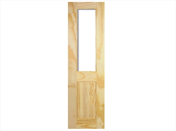 Pine Richmond Clear Half Door (Imperial)
