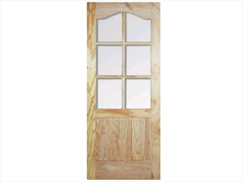 Pine Havana Semi Clear Door (Imperial)