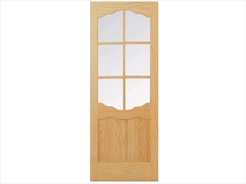 Pine Riviera Clear Door (Imperial)