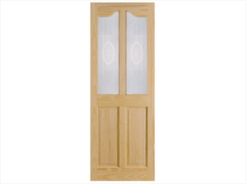 Pine Richmond Bluebell Door (Imperial)