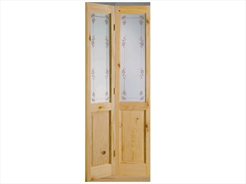 Pine Richmond Bluebell Bi-Fold Door (Imperial)