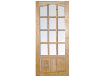 Pine Park Lane Semi Clear Door (Imperial)
