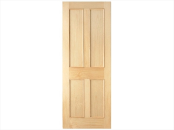 Pine 4 Panel RM2S Door (Imperial)