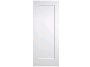 Solid White Shake 1 Panel Door (Imperial)