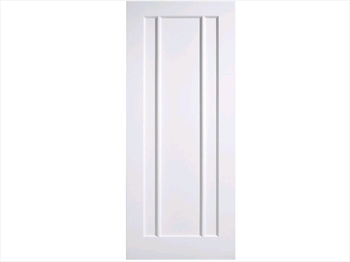 Solid White Lincoln Door (Imperial)