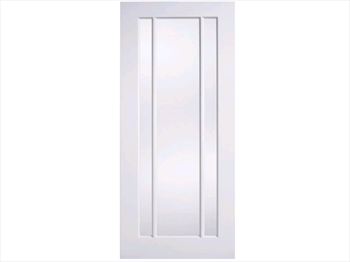 Solid White Lincoln Glazed Door (Imperial)