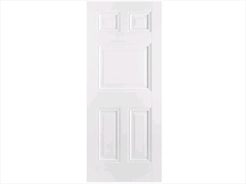 Solid White Paris 5 Panel Door (Imperial)