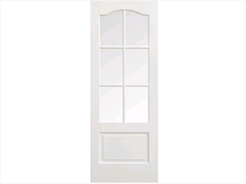 Solid White Kent 6L Door (Imperial)