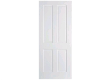 Solid White Canterbury 4 Panel Door (Imperial)