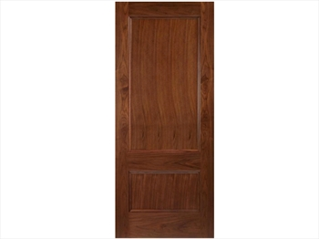Bern 2 Panel Walnut Door (Imperial)