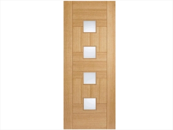 Quebec Glazed Oak Door (Imperial)