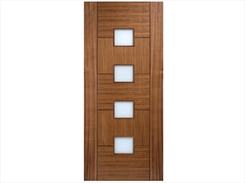 Quebec Glazed Walnut Door (Imperial)