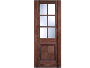 Barcelona Glazed Walnut Door (Metric)