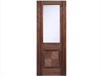 Valencia Glazed Walnut Door (Imperial)