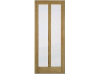 Vermont Glazed Oak Door (Imperial)