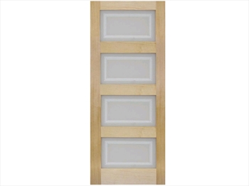 4L Glazed Pine Door (Metric)