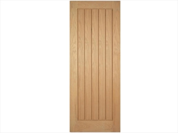 Pre-Finished Mexicano Oak Door (Metric)